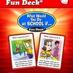 Super Duper Inc's What Would You Do at SCHOOL If… Fun Deck {App Review}