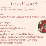Tangled Tuesday: Pizza Pizzaz