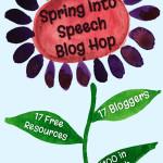 Spring Into Speech Blog Hop