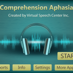 Comprehension Aphasia app from VSC {Appy Friday Review}