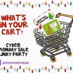 What's In Your Cart?  Cyber Monday/Tuesday Linky Party!