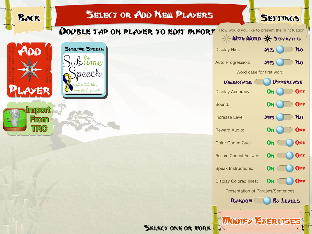 Sentence Ninja app by Smarty Ears {Appy Friday Review} – Sublime Speech