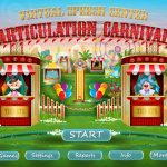 Articulation Carnival from Virtual Speech Center {Appy Friday Review}