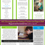 AAC: Encouragement and Training of Teachers and Support Staff