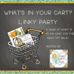 What's In Your Cart? {linky party}