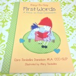 Easy-To-Say First Words: A Focus on Final Consonants {Book Review & Giveaway}