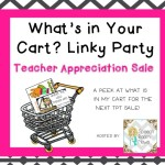 What's in your cart? {Linky}