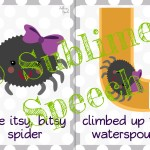 Itsy Bitsy Speech & Language Activities