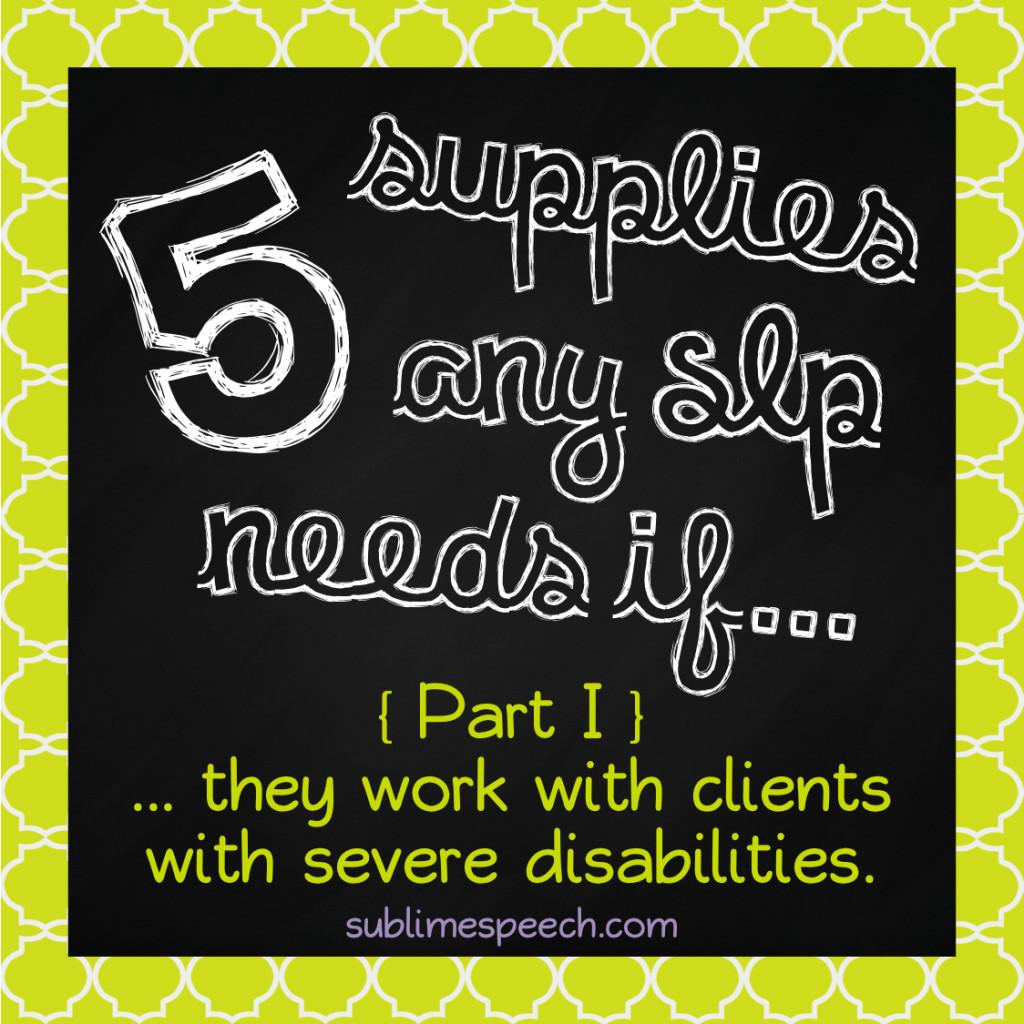 5 Supplies 1