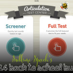 Back to School Buys: Little Bee Speech's Articulation Test Center