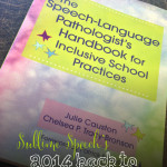 Back to School Buys: The SLP's Handbook for Inclusive School Practices