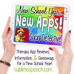 New School Year, New Apps: Social Detective!